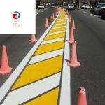 پخش کننده انواع رنگ های ترافیکی