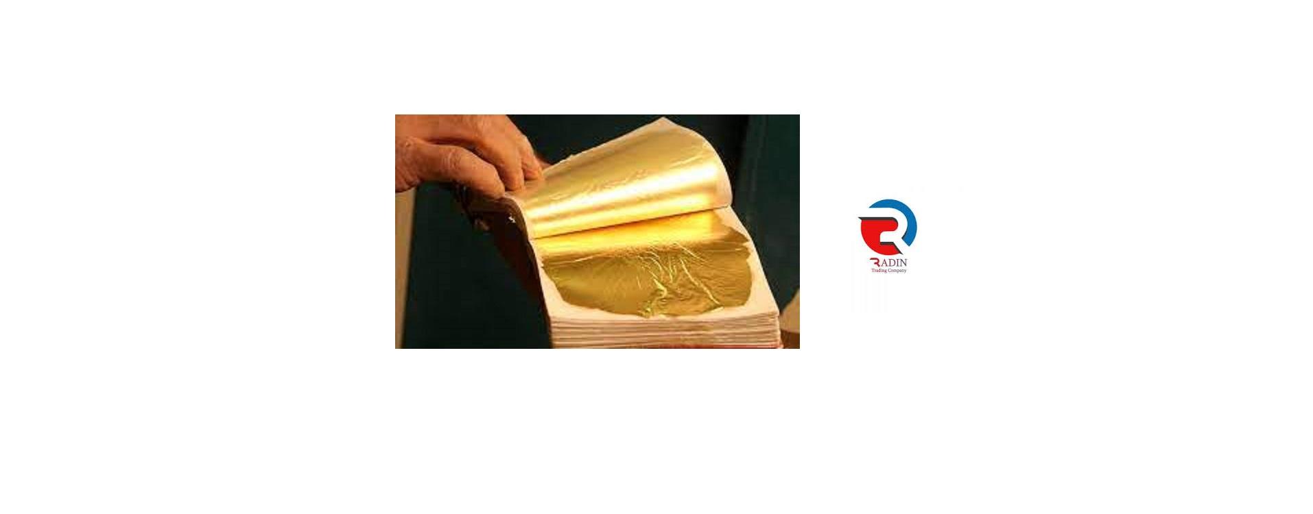 فروش عمده ورق طلا در جنوب تهران